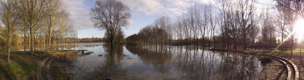 """Parc de Balzac à Angers (49), labellisé EcoJardin depuis 2012 dans la catégorie """"Espaces naturels aménagés"""""""
