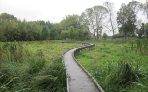"""Parc de la Deûle à Lille (59), labellisé EcoJardin depuis 2012 dans la catégorie """"Espaces naturels aménagés"""""""