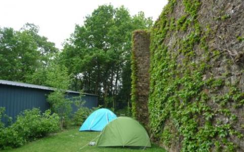 """Camping municipal """"Saint Etienne"""" de Vitré (35), labellisé EcoJardin depuis 2016 dans la catégorie """"Campings"""""""